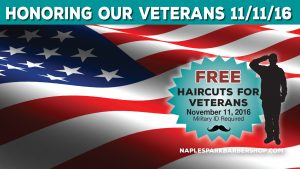 LOCAL BARBER SHOP GIVES BACK ON VETERAN'S DAY